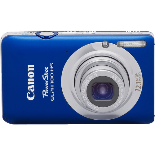 Canon PowerShot 100 HS 12.1 Megapixel Compact Camera - Blue