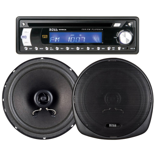 Boss Audio 586CK Car CD/MP3 Player - 160 W - Single DIN