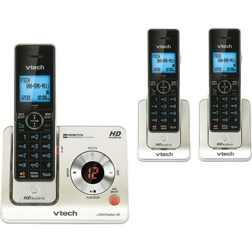 VTech LS6425-3 DECT Cordless Phone - Black