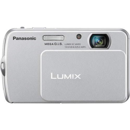Panasonic Lumix DMC-FP5 14.1 Megapixel Compact Camera - Silver