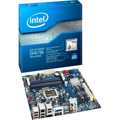 Intel Media DH67BL Desktop Motherboard - Intel - Socket H2 LGA-1155