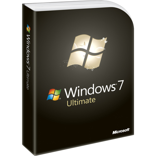 Microsoft Windows 7 Ultimate With Service Pack 1 32-bit - License and Media