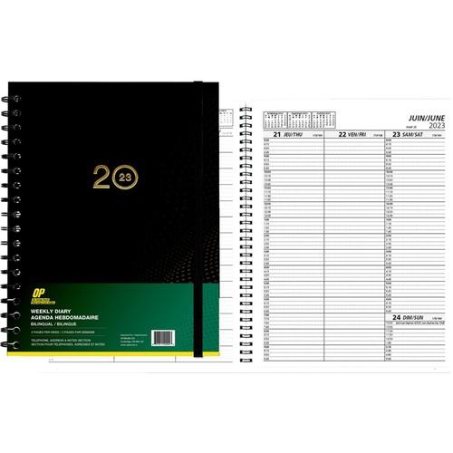 op brand weekly planner opb40004