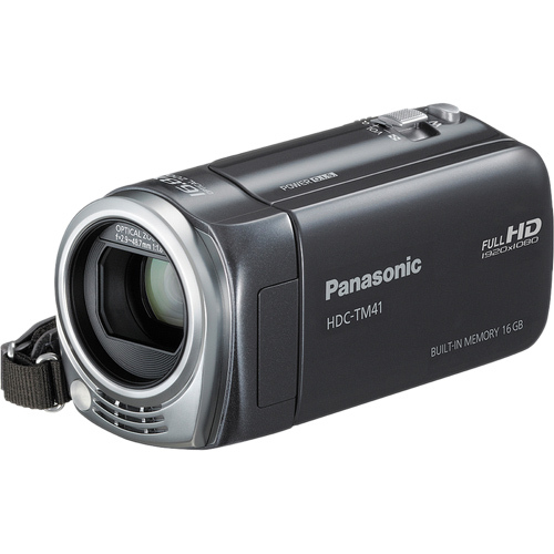 "Panasonic HDC-TM41 Digital Camcorder - 2.7"" LCD - CMOS - Full HD - Gray"