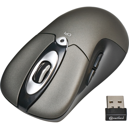 SYBA Multimedia CL-MOU23008 Mouse - Optical - Wireless - Radio Frequency