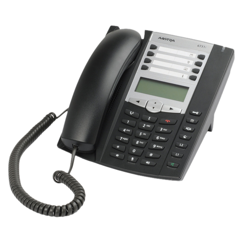 Aastra 6731i IP Phone - Wired - Wall Mountable - Charcoal