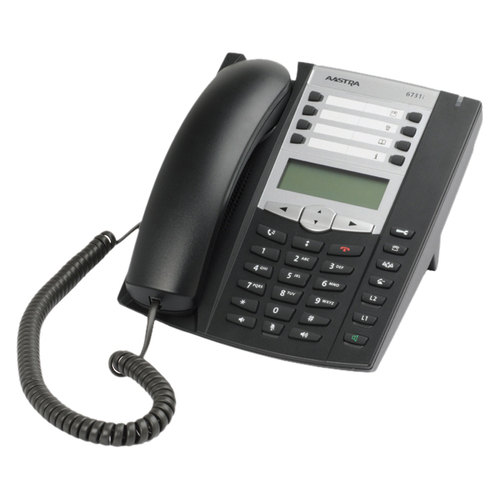 Mitel Networks 6731i IP Phone - Wired - Wall Mountable - Charcoal