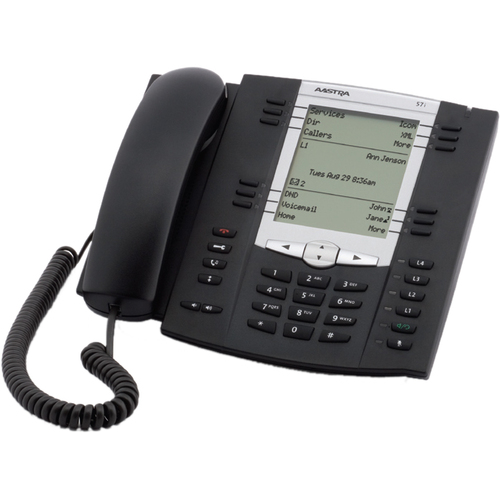 Aastra 57i IP Phone - Wired - Wall Mountable