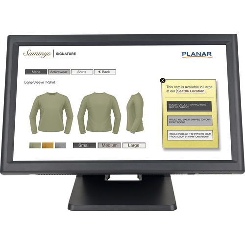 "Planar Systems PT1945RW 18.5"" LCD Touchscreen Monitor"