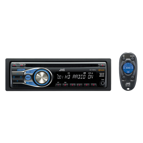 JVC KD-HDR44 Car CD/MP3 Player - 80 W - Single DIN