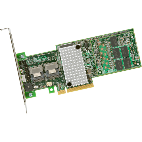 LSI Logic MegaRAID 9265-8i SAS RAID Controller - Serial Attached SCSI, Serial ATA/600 - PCI Express 2.0 x8 - Plug-in Card