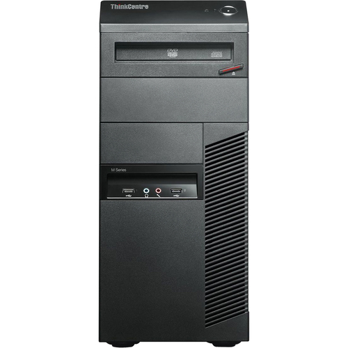 Lenovo ThinkCentre M91p 4524A8U Desktop Computer - Intel Core i7 i7-2600 3.40 GHz - Tower - Business Black