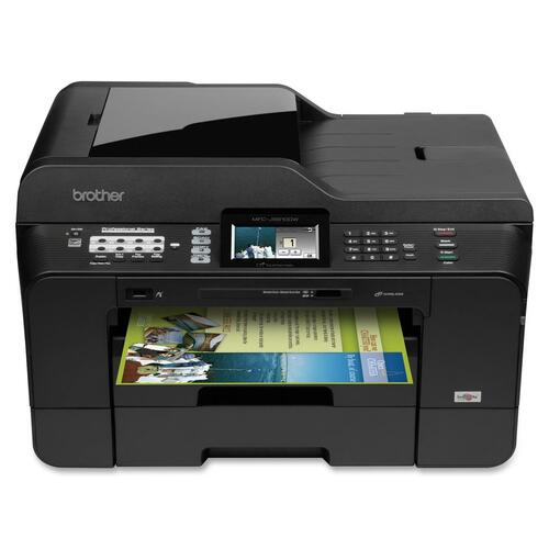Brother MFC-J6910DW Inkjet Multifunction Printer - Color - Plain Paper Print - Desktop