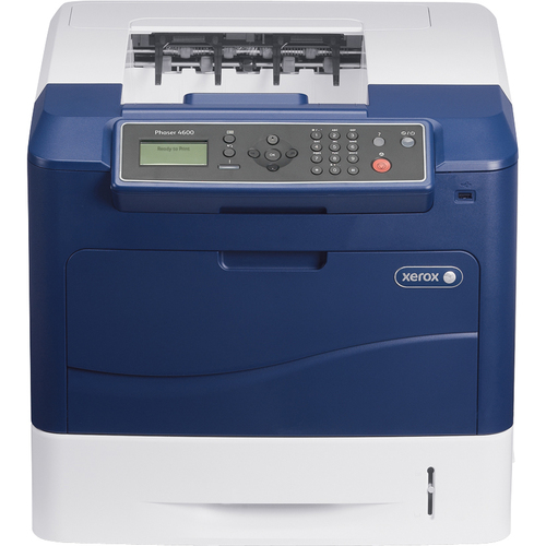 Xerox Phaser 4600N Laser Printer - Monochrome - Plain Paper Print - Desktop