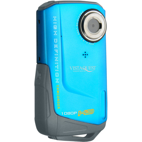 "VistaQuest DV-820 Digital Camcorder - 2"" LCD - CMOS - Blue"