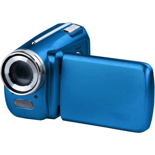 "VistaQuest DV500 Digital Camcorder - 1.8"" LCD - CMOS - Blue"
