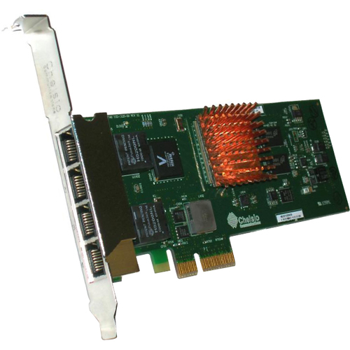 Chelsio T404-BT Gigabit Ethernet Card
