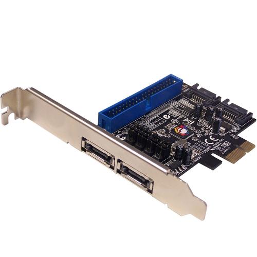 Siig SC-SA0K11-S1 SATA/ATA RAID Controller - Serial ATA/600, Ultra ATA/133 (ATA-7) - PCI Express x1 - Plug-in Card