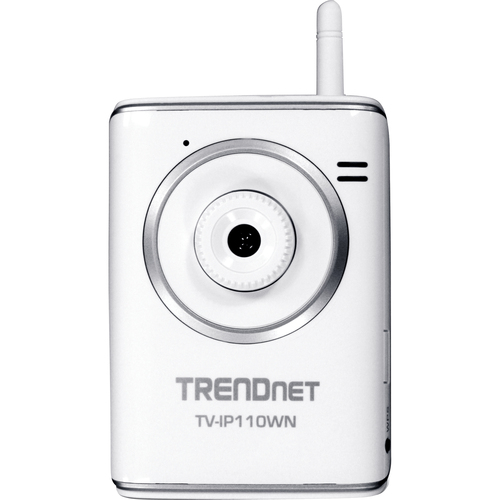 TRENDnet SecurView TV-IP110WN Surveillance/Network Camera - Color