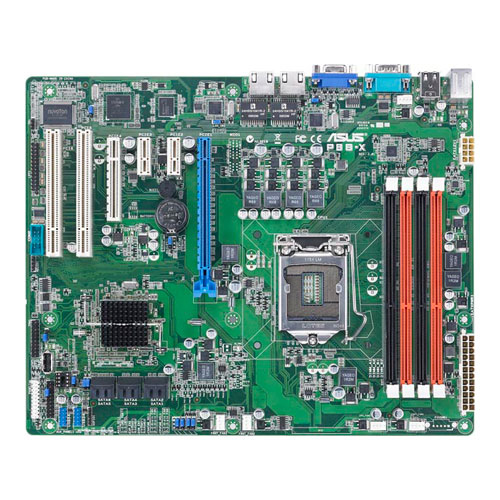 Asus P8B-X Server Motherboard - Intel - Socket H2 LGA-1155