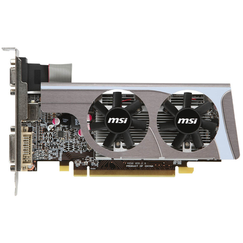 MSI R6570-MD1GD3/LP Radeon HD 6570 Graphics Card - 650 MHz Core - 1 GB DDR3 SDRAM - PCI Express 2.1 x16Low-profile