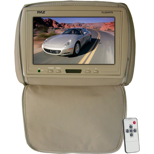 "Pyle PL90HRTN 9"" Active Matrix TFT LCD Car Display - Tan"