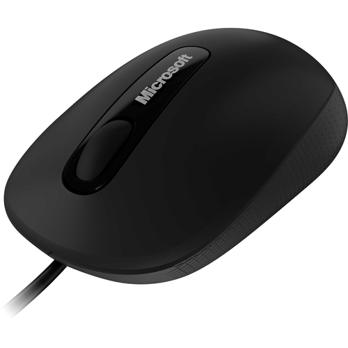 Microsoft 3000 Mouse - BlueTrack - Wired - Black