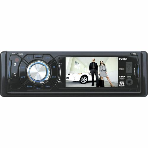 "Naxa NCD-694 Car DVD Player - 3"" LCD - 160 W RMS"