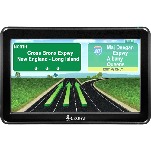Cobra 7750PLT PRO Professional Driver 7-Inch Portable GPS Navigator with Enhanced Truck-Specific Routing