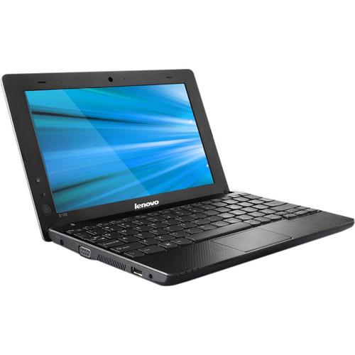 "Lenovo IdeaPad S100 106722U 10.1"" Netbook - Atom N455 1.66GHz - Black"