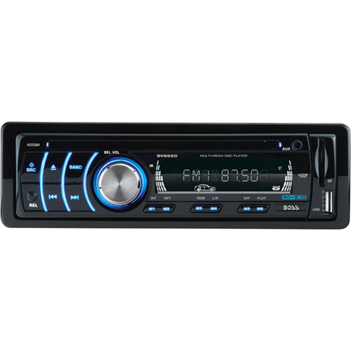 "Boss Audio BV6650 Car DVD Player - 3.2"" Display - In-dash - Single DIN"