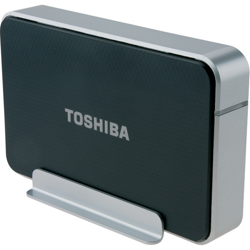 Toshiba PH3100U-1E3S 1 TB External Hard Drive - Black, Silver