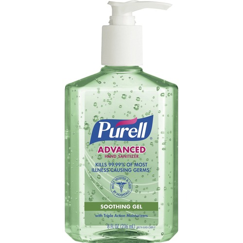 PURELL® Aloe Advanced Hand Sanitizer 8 fl oz, 1 each