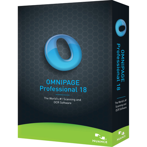 Nuance Communications, Inc. OmniPage v.18.0 Professional - Upgrade Package - 1 User