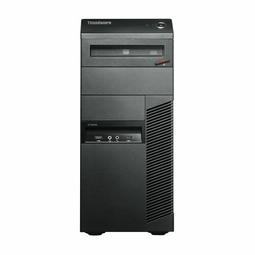 Lenovo ThinkCentre M91p 7034A2U Desktop Computer - Intel Core i5 i5-2400 3.10 GHz - Tower - Business Black