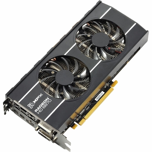 XFX HD-687A-ZDFC Radeon HD 6870 Graphics Card - 900 MHz Core - 1 GB GDDR5 SDRAM - PCI Express 2.1 x16