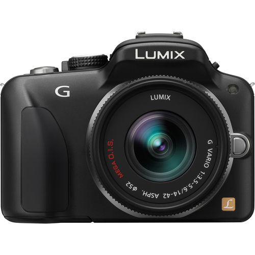 Panasonic Lumix DMC-G3 16 Megapixel Mirrorless Camera with Lens - 14 mm - 42 mm - Black