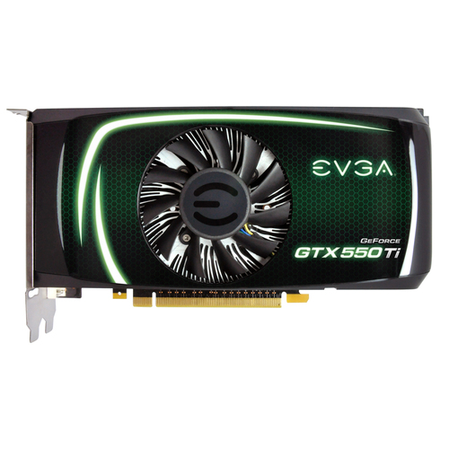 EVGA 01G-P3-1557-KR GeForce GTX 550 Graphics Card - 981 MHz Core - 1 GB GDDR5 SDRAM - PCI Express 2.0 x16