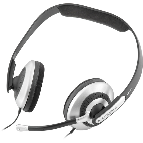 Creative Labs HS-600 Headset - Stereo - Black - Mini-phone