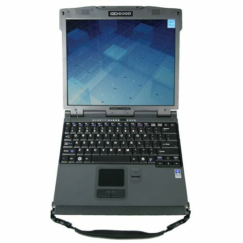 "General Dynamics GoBook GD6000B-300 13.3"" Notebook - Core 2 Duo T9400 2.53 GHz - Black"