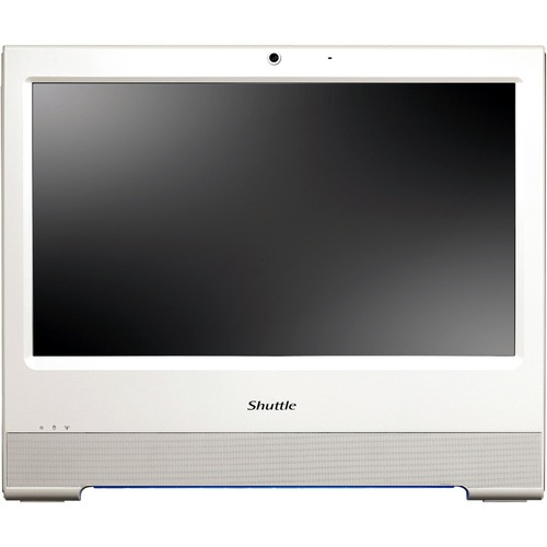 Shuttle X50V2 PLUS All-in-One Computer - Intel Atom D525 1.80 GHz - Desktop - White