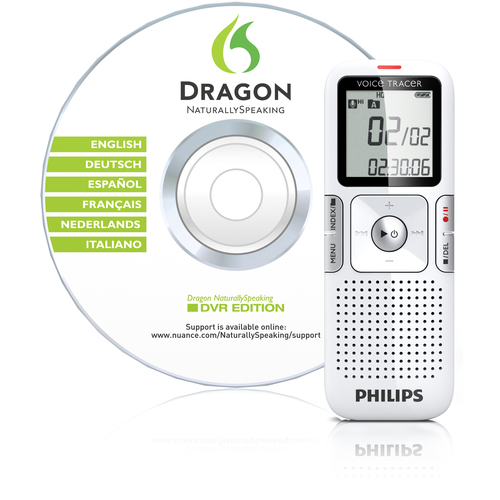 Philips LFH0625 Voice Tracer 2GB Digital Voice Recorder