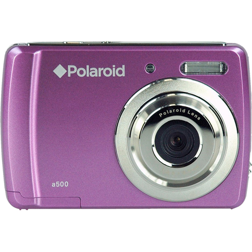Polaroid a500 5.1 Megapixel Compact Camera - Violet (Refurbished)