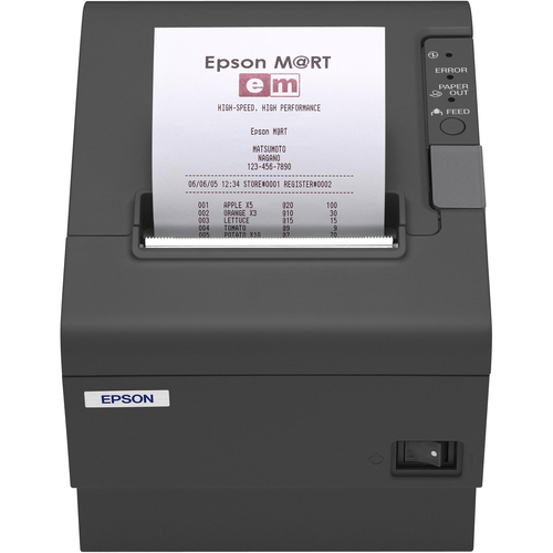 Epson TM-T88IVReStick Direct Thermal Printer - Monochrome - Desktop - Label Print
