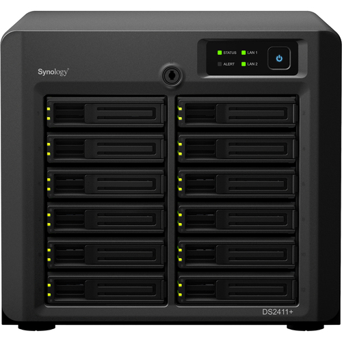 Synology DiskStation DS2411+ Network Storage Server