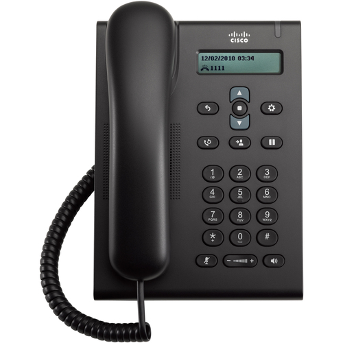 Cisco 3905 IP Phone - Wired - Wall Mountable, Desktop - Charcoal