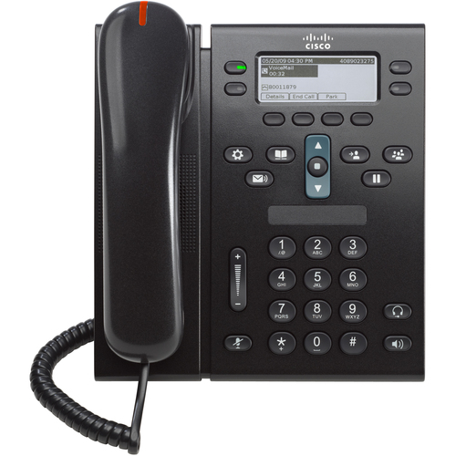 Cisco 6941 IP Phone - Wired - Wall Mountable - Charcoal