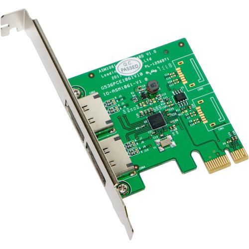SYBA Multimedia, Inc. eSATA III 2 External 6Gbps Ports PCI-e Controller Card