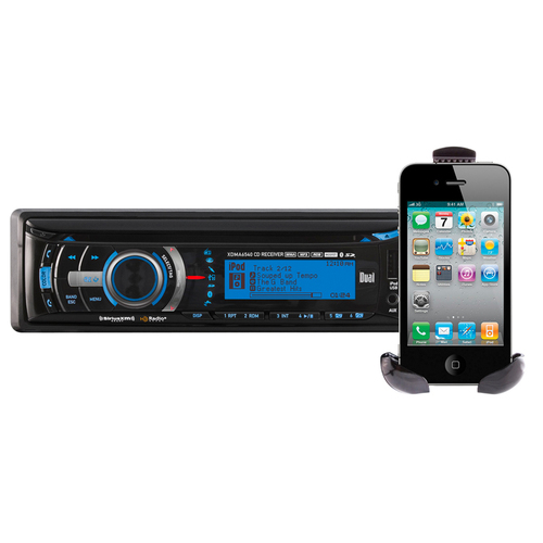 Dual Electronics XDMA6540 Car CD/MP3 Player - 240 W RMS - iPod/iPhone Compatible