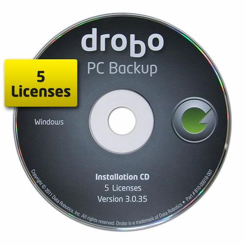 Drobo PC Backup - License - 5 PC
